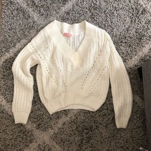 Cropped urban outfitters sweater